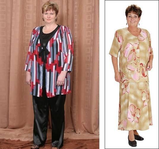 8a571a3abccc Oblečení pro plnoštíhlé dámy má v Česku jedno specifikum  divoce vzorované  polyesterové hábity typu