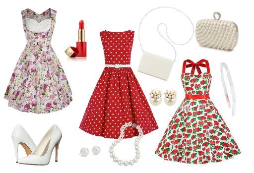 Retro šaty 50. léta - Modní peklo 89a6c84a67