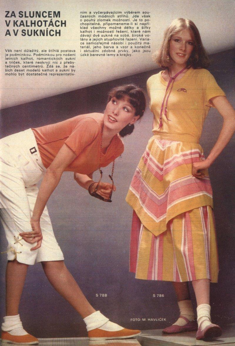 e1f619b65 Jako titul dnešního článku o módě pro -náctileté (ano, konečně) jsem  zvolila název rubriky, která vycházela v časopisu Žena a móda (to byl dřív  takový ...