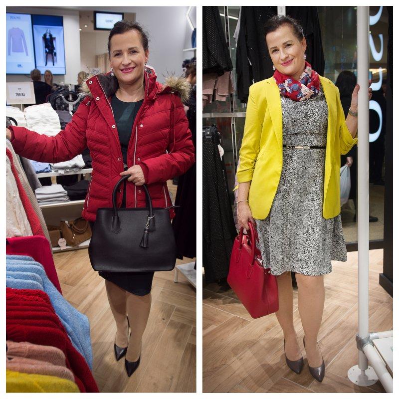 Červená sportovní bunda k business casual módě nepatří. Foto: Kateřina Nevřelová.