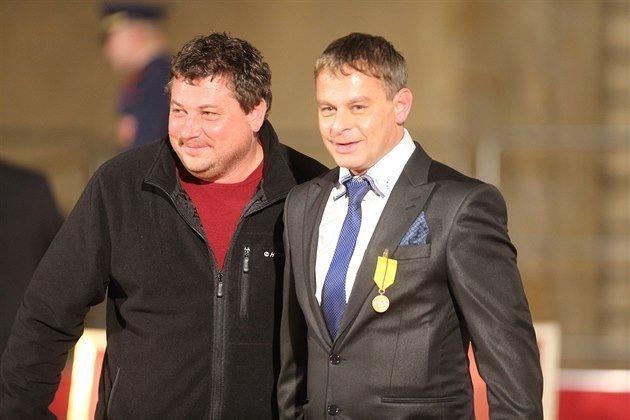 Robert Sedláček se na předávání státního vyznamenání v roce 2014 moc nevyfiknul... Zdroj/Autor: MAFRA / František Vlček